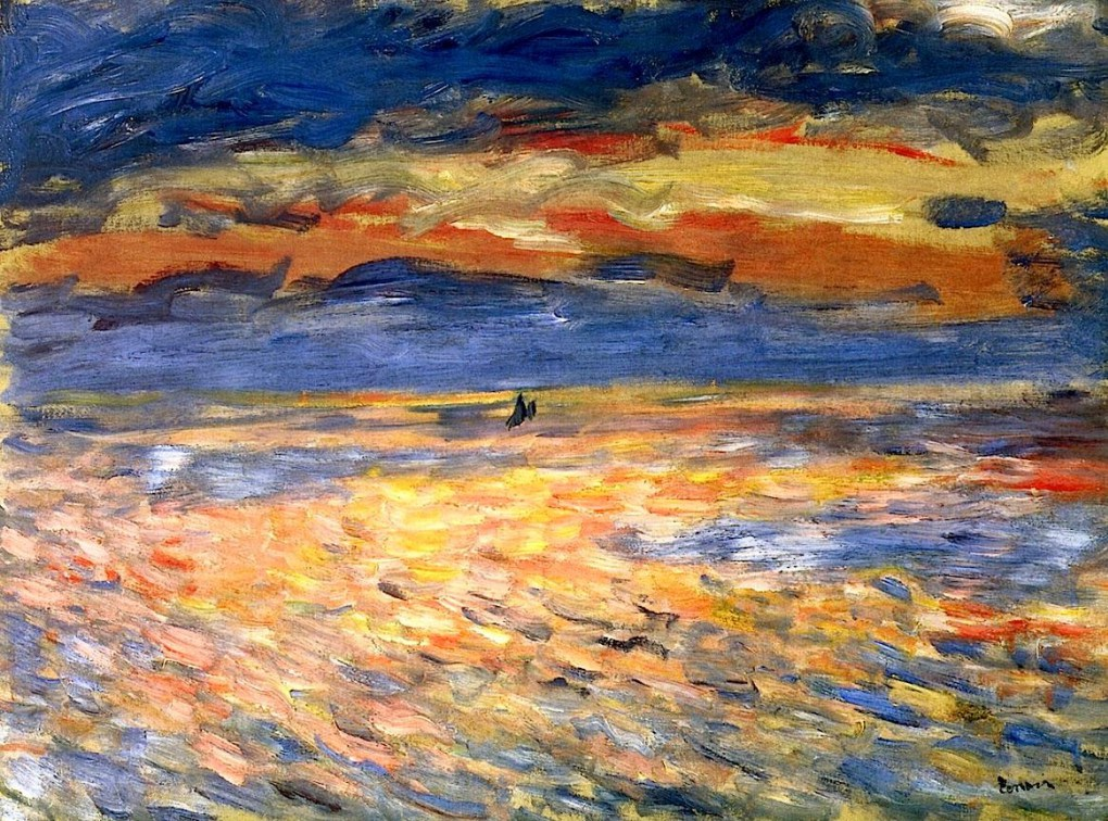 Renoir - Sunset at Sea, 1879