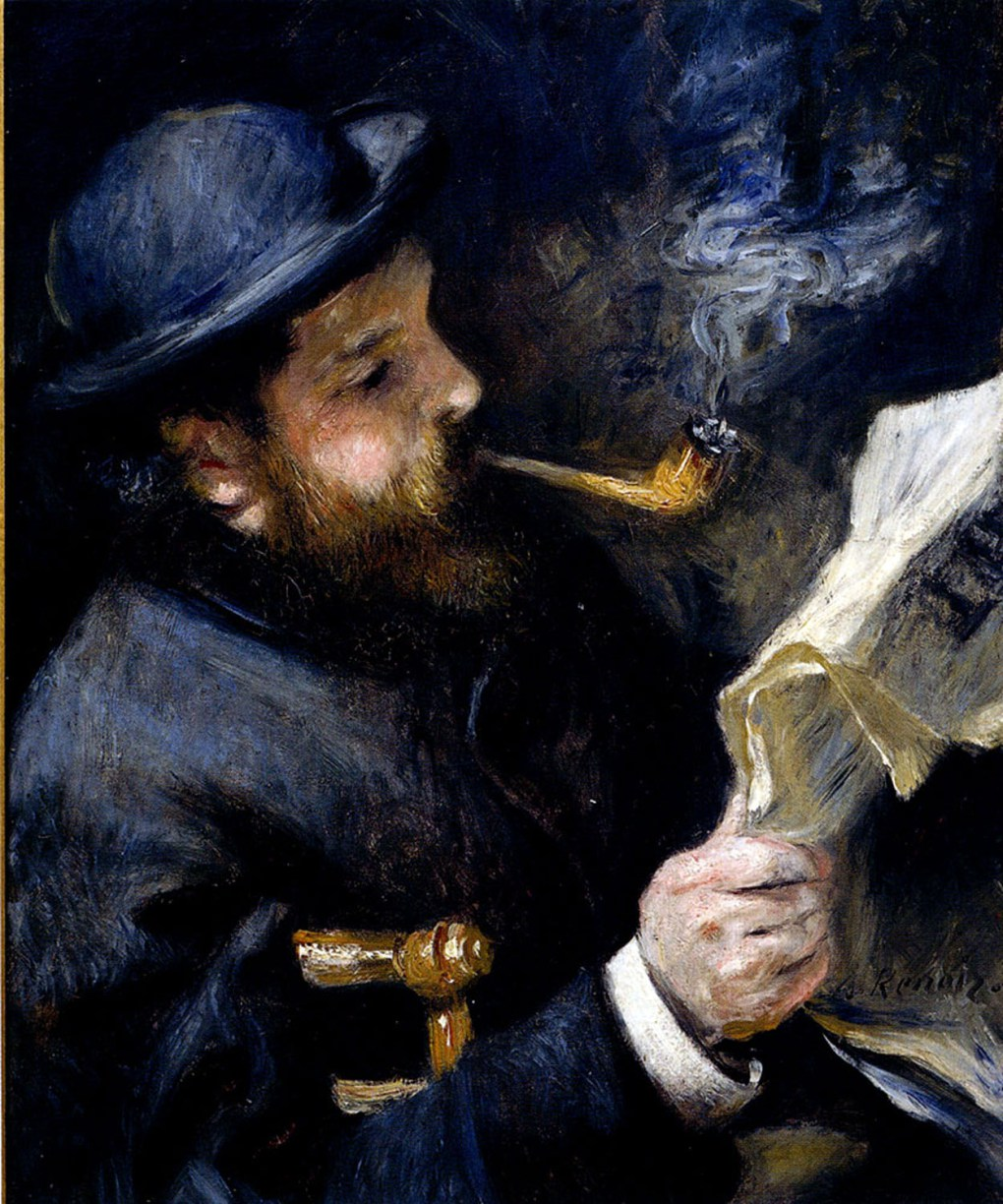 pierre_auguste_renoir_claude_monet_reading_a_newspaper