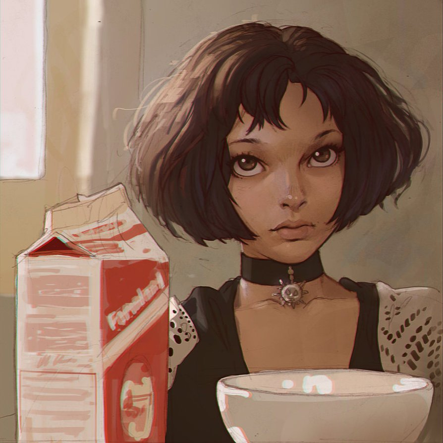 Ilya Kuvshinov illustrations manga6