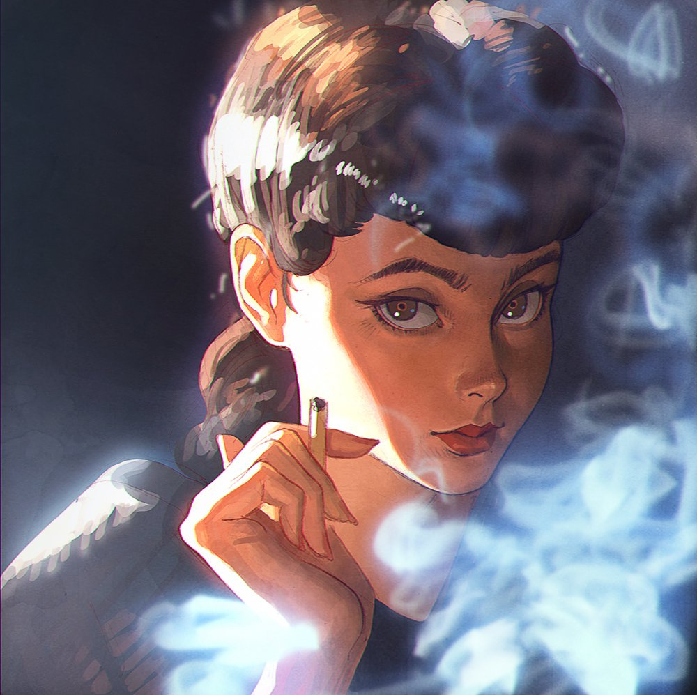 Ilya Kuvshinov illustrations manga5