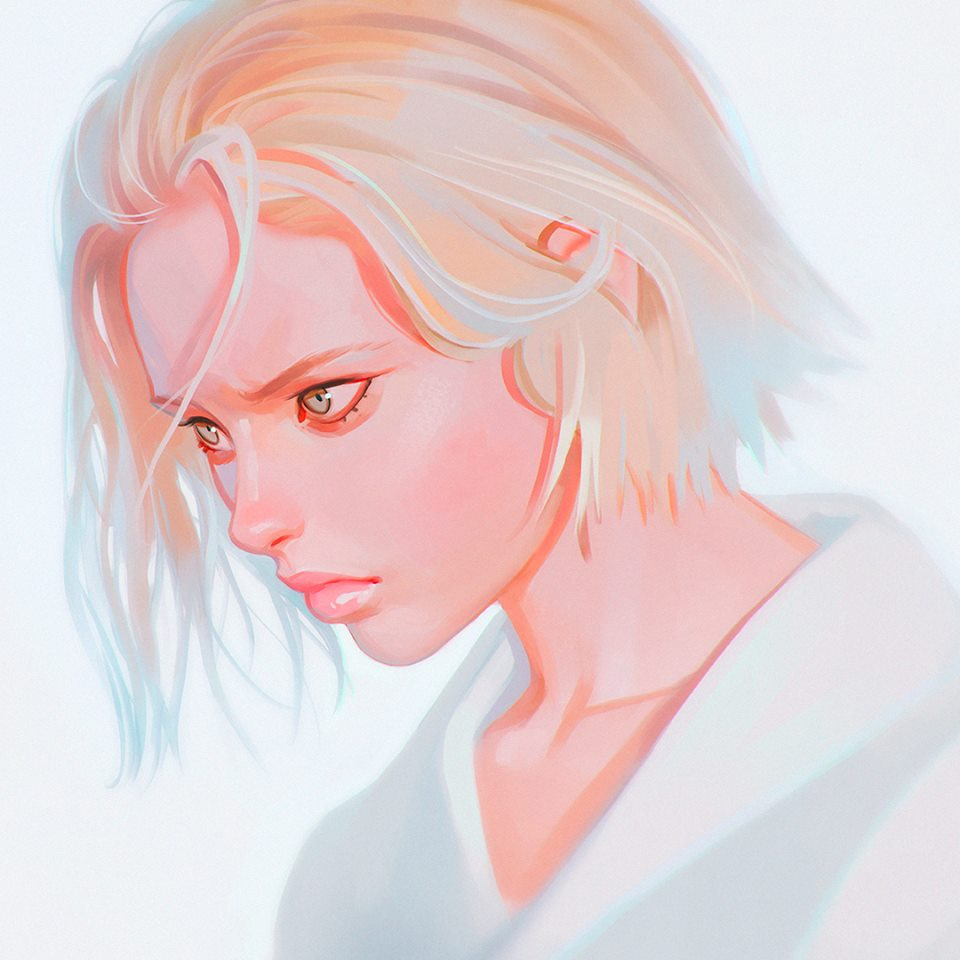 Ilya Kuvshinov illustrations manga11
