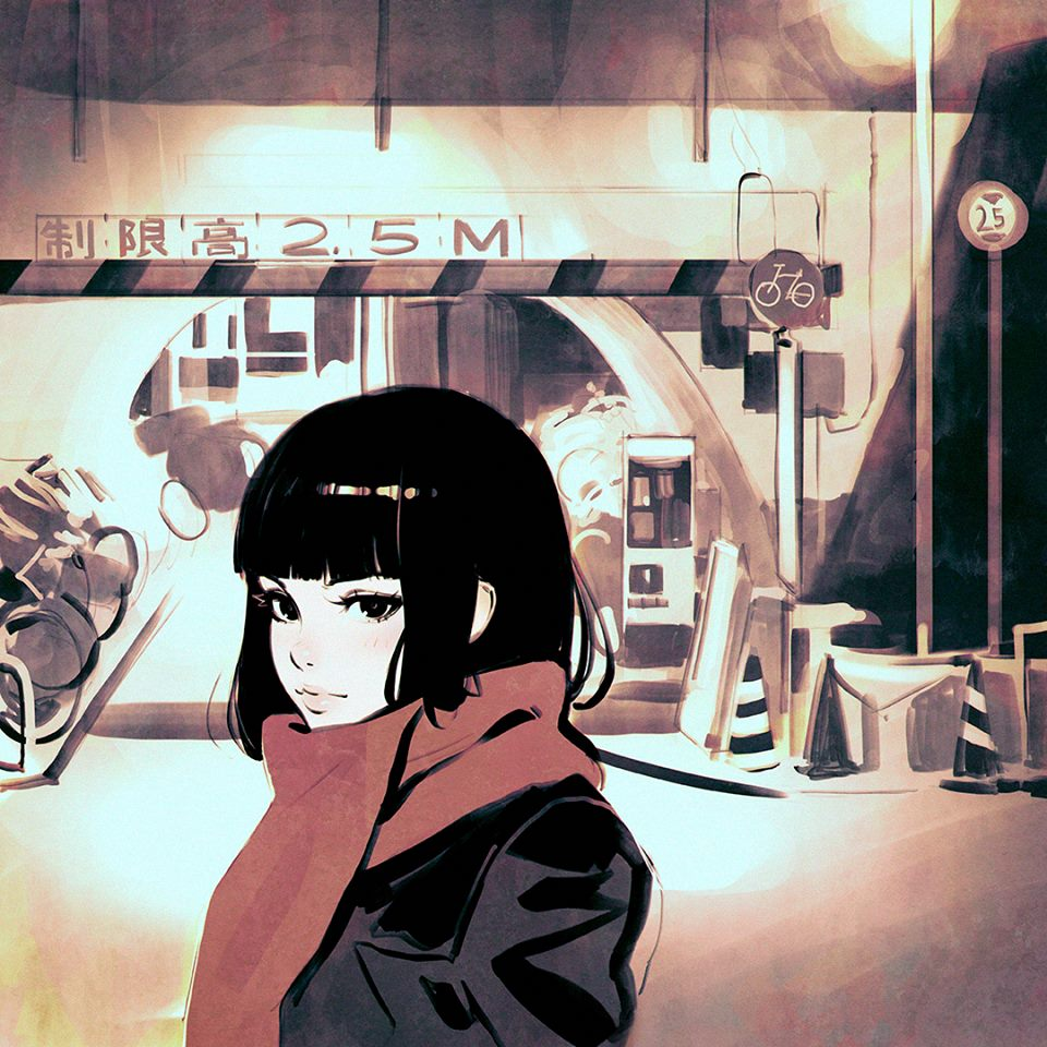 Ilya Kuvshinov illustrations manga14
