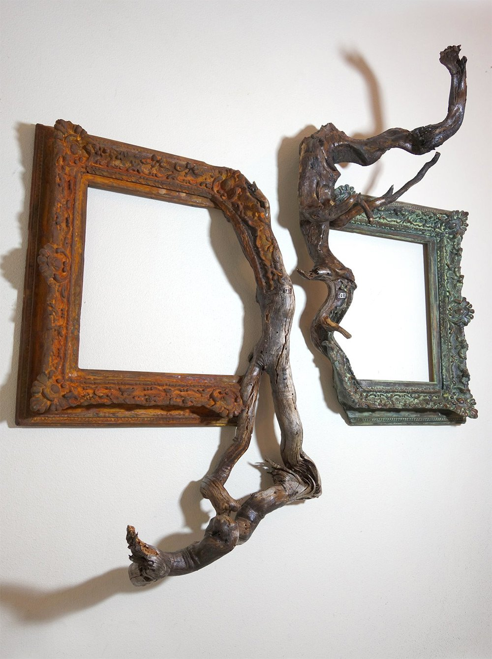 Darryl Cox tree branch frame art6