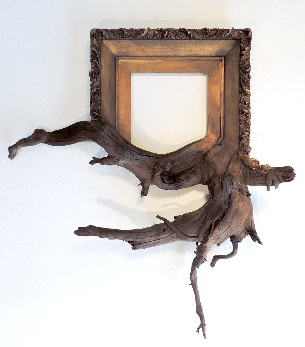 Darryl Cox tree branch frame art7