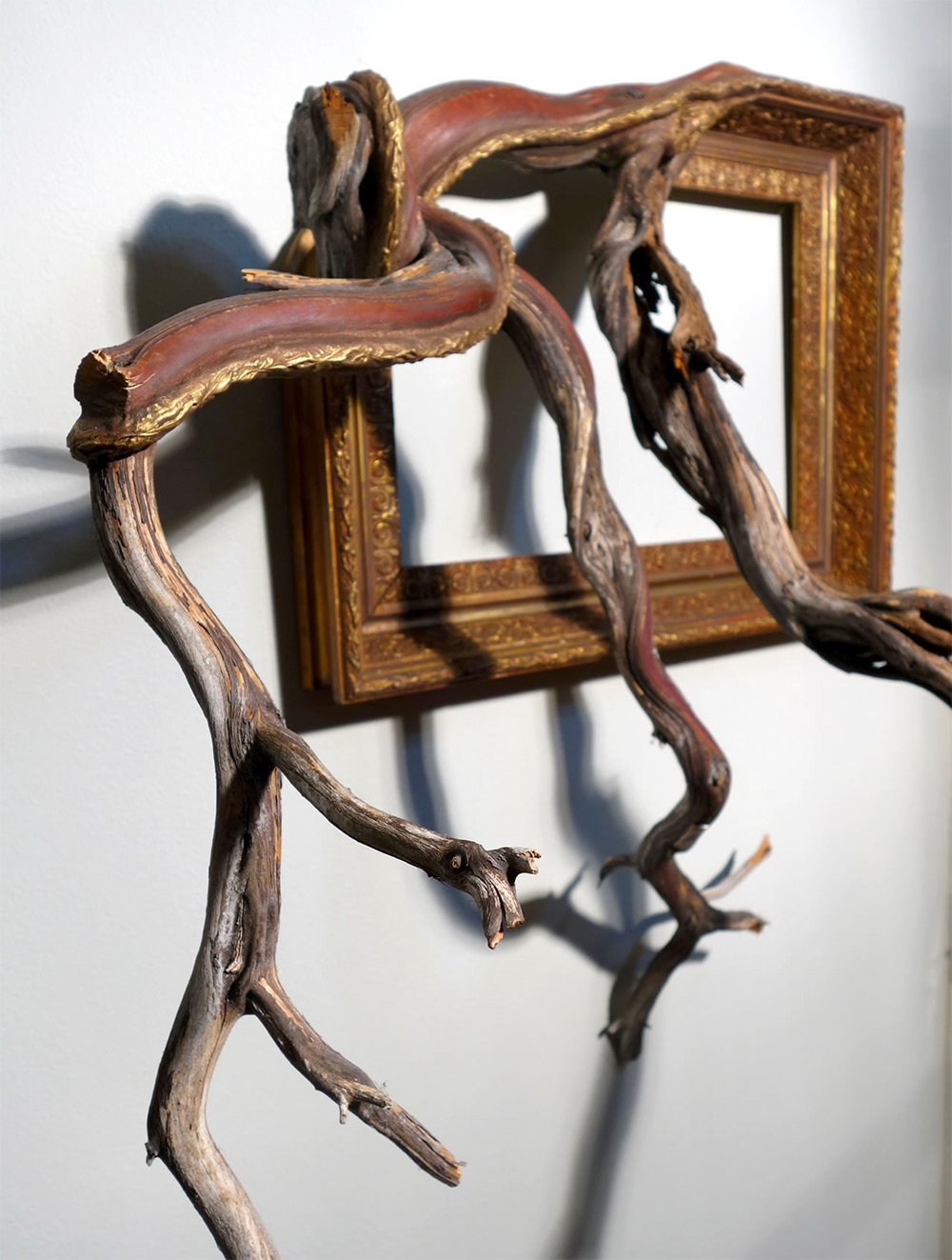 Darryl Cox tree branch frame art8