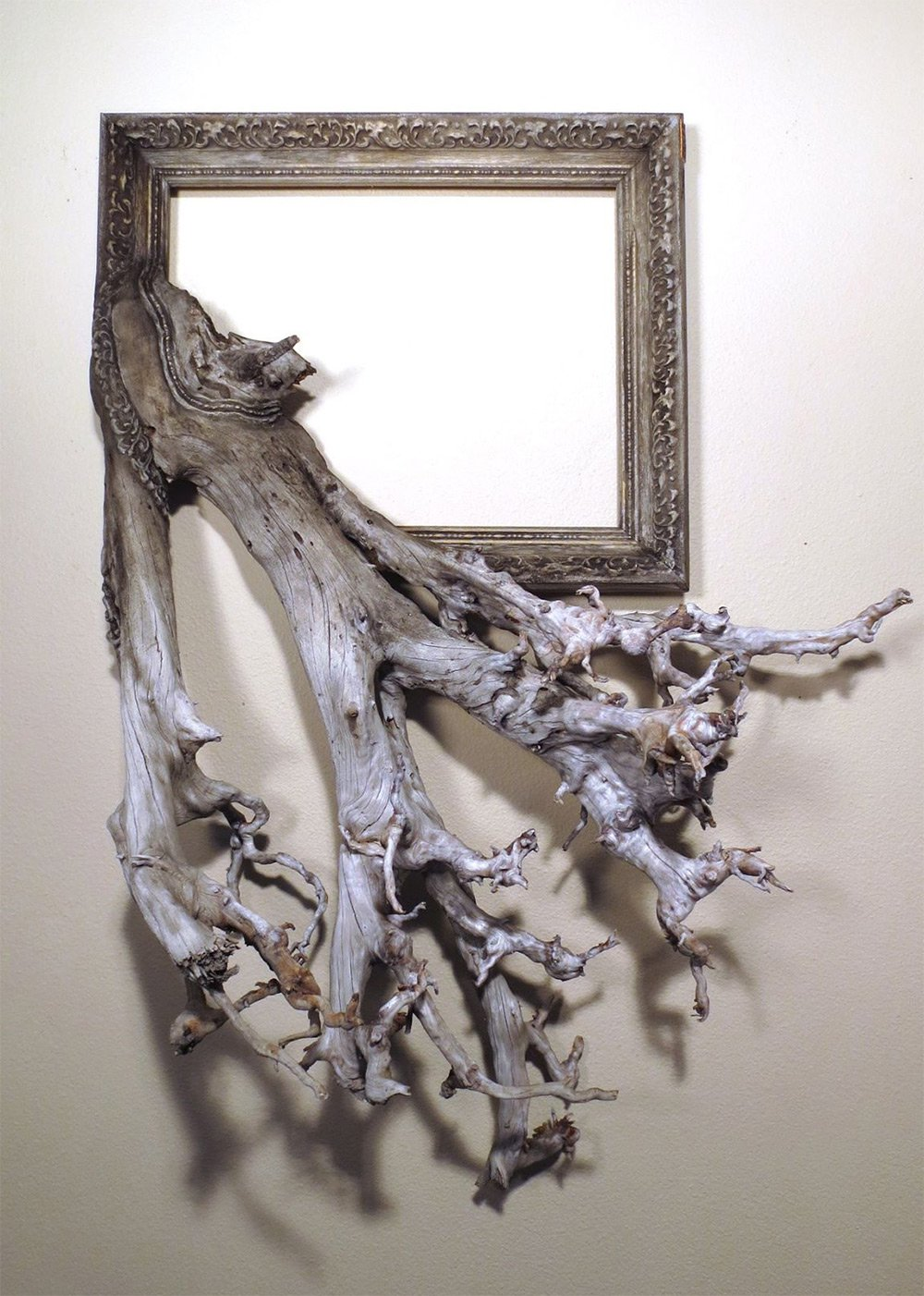 Darryl Cox tree branch frame art10