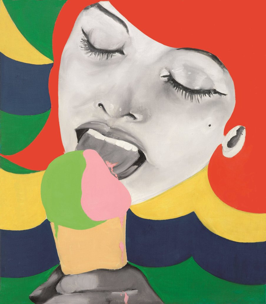 Ice Cream de Evelyne Axell