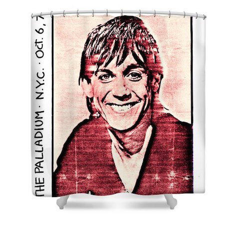 Shower curtains rock punk10