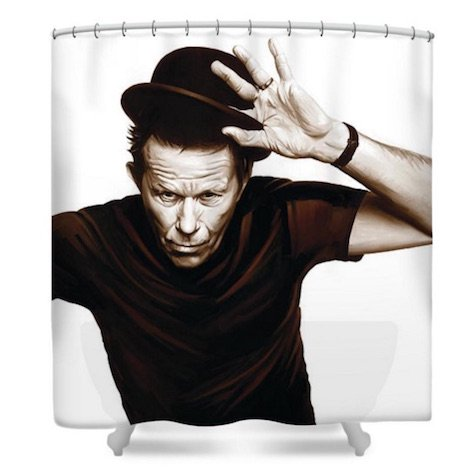 Shower curtains rock punk12