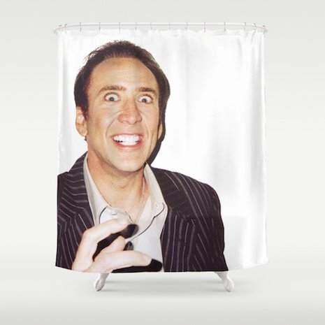 Shower curtains rock punk17