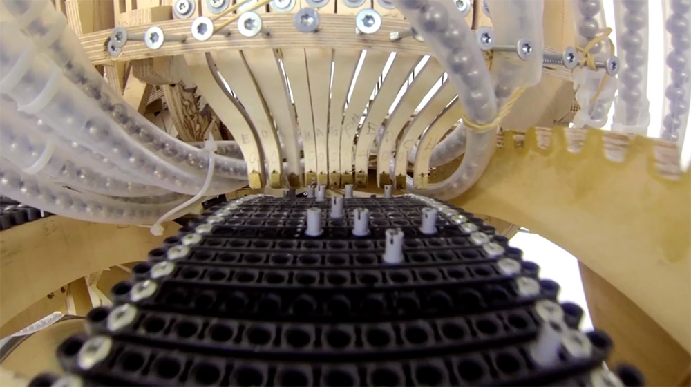 Martin Molin the Wintergatan Marble Machine6