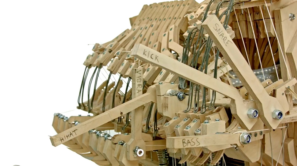 Martin Molin the Wintergatan Marble Machine10