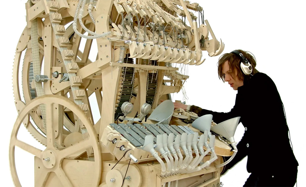 Martin Molin the Wintergatan Marble Machine