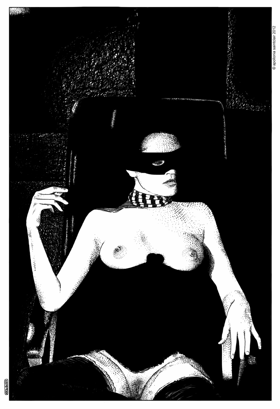 Apollonia Saintclair arte provocativo erotico 14