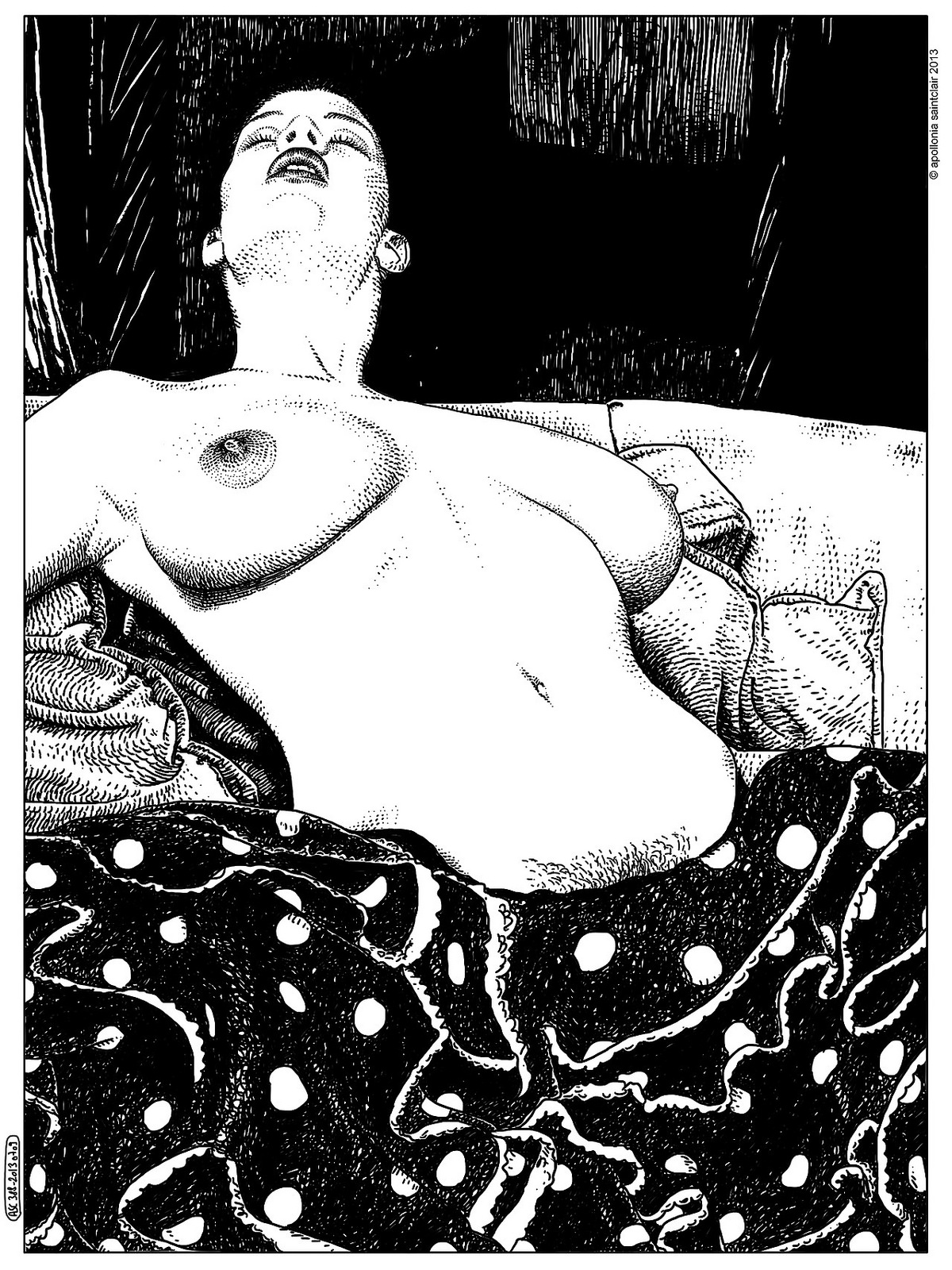 Apollonia Saintclair arte provocativo erotico 17