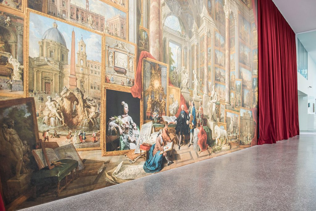 Pannini, exhibition view, Museion, 2016. Foto: Luca Meneghel.