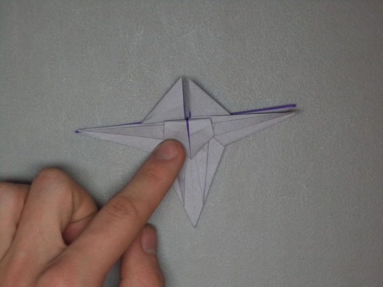 Origami Star Wars X Wing Starfighter 4