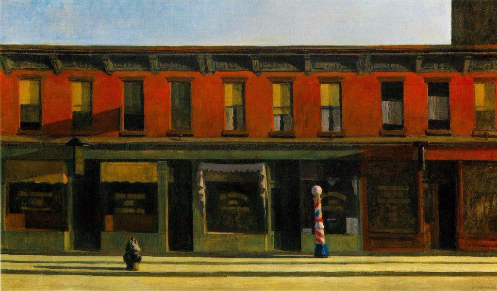 Edward Hopper early sunday