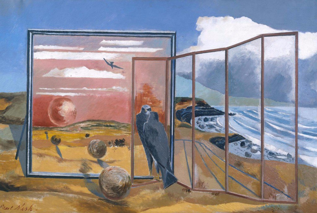 Landscape from a Dream 1936-8 by Paul Nash 1889-1946